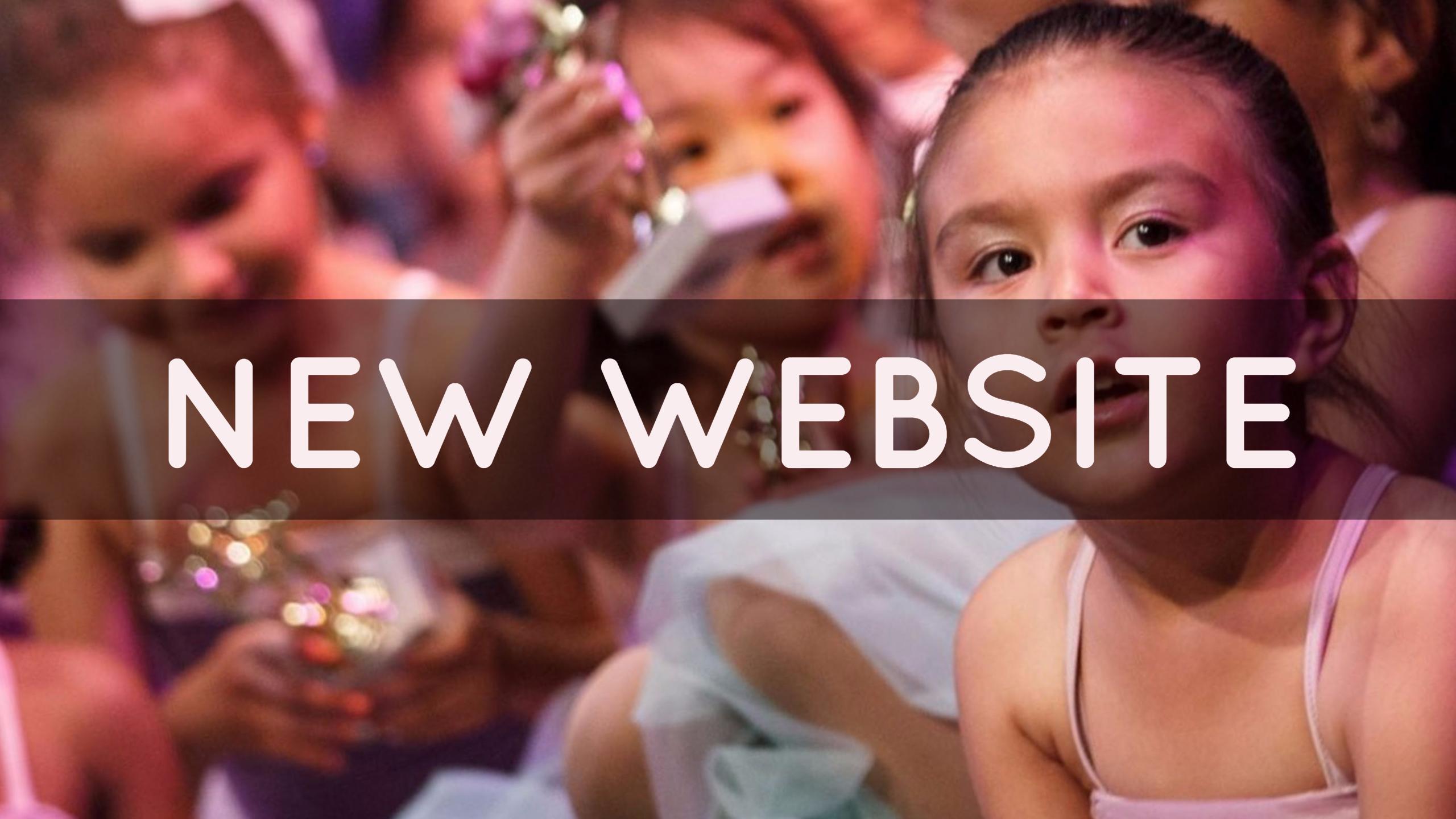 Our Brand-Spankin' New Website